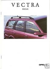 OPEL VECTRA BREAK - 1997 // catalogue brochure prospekt catalog dépliant folder