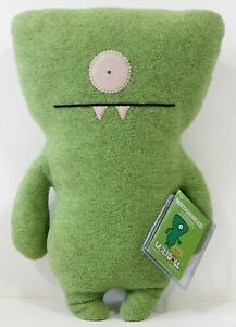 RARE!!! Super7 EXCLUSIVE Green WEDGEHEAD IN OX DISGUISE UGLYDOLL! ONLY 100 MADE!
