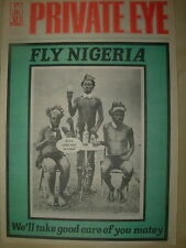 PRIVATE EYE MAGAZINE No 589 JULY 13 1984 FLY NIGERIA