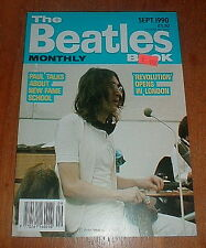 """BEATLES """"Beatles Monthly Book"""" Sept 1990 OLD NEW STORE STOCK"""