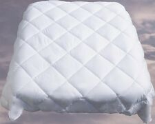 Twin size Quilt, White Aloe Vera Duvet Cover Filler-Insert,  Hotel Quality