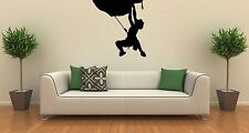 Wall Stickers Vinyl Decal Extreme Sports Climber Mountaineer ig1467