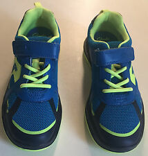 CLARKS BOYS  JNR MESH LIGHTWEIGHT MAX SPRING TRAINER SHOES  SIZE 13G