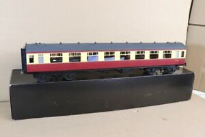 TOWER BRASS G 1 SCALE BR CRIMSON CREAM COLLETT 3rd CLASS COACH W1086 BOXED nv