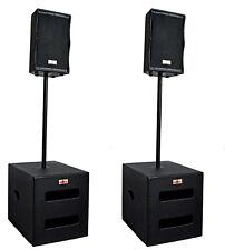 DJ PA Musikanlage BANDANLAGE komplett ANLAGE  7600 WATT max.