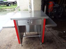 COLORPOINT Portable Work Table-Cash Drawer Table