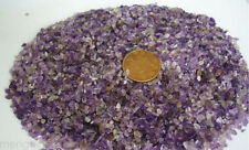 Natural degaussing purple crystal tiny crushed stones fish tank Fengshui shrine