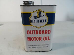RICHFIELD OUTBOARD MOTOR OIL CAN