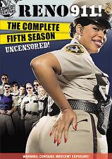 DVD Reno 911 The Complete Fifth Season 5 Five Uncensored 3-Disc Set NEW