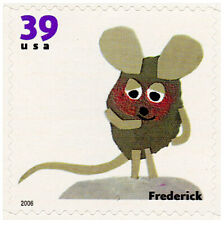 Block of 6 Mint Frederick The Mouse Poet Stamps: Leo Lionni 1967 Poets Soul Food