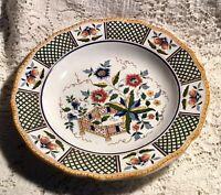 SARREGUEMINES D.V. FRANCE CHINA PLATE