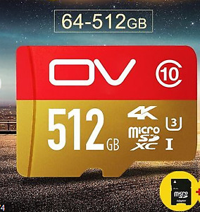 GS-2IN633x64GB-R Pro 128GB Micro SD Card U3 4K Up Memory + SD Card Reader