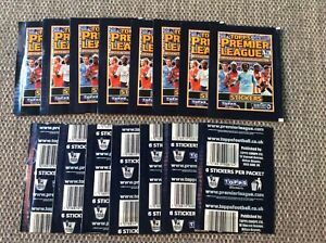 15 Unopened Packets Of Merlin/Topps Premier League  2010 Stickers