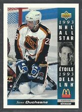 1993-94 Upper Deck McDonald's NHL All Stars - #14 - Steve Duschesne - Nordiques
