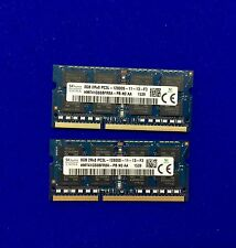 16GB (2x8GB) DDR3 Hynix 1600 Mhz PC3L 12800s Laptop SODIMM Memory RAM 204 Pin