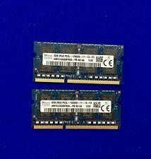 16GB (2x8GB) DDR3 1600 MHz Hynix PC3L 12800s Portátil SODIMM Memoria RAM 204 Pin
