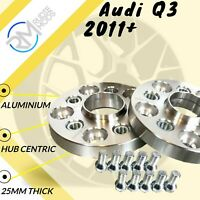 Audi Q3 2011 on 25mm Hubcentric Wheels Spacers 1 pair