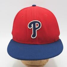 New Era Philadelphia Phillies Fitted Baseball Hat 59Fifty 5950 7-3/8