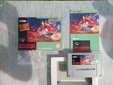 Jeu Super Nintendo / Snes Game Aladdin Complet CIB PAL Hol * BIEN LIRE