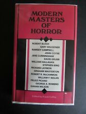 Modern Masters Of Horror, 1985, RARE, George Romero, Stephen King, Frank Coffey