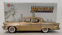 Brooklin 1/43 Scale BRK171  - 1957 Packard Clipper Sedan Tiara Gold Metallic