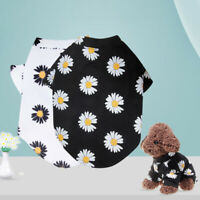 KM_ Cute Pet Dog Cat Clothes Summer Puppy T Shirt Top Clothing Small Dogs Vest