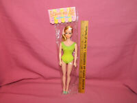 Vintage CRAGSTAN FASHION MODEL DOLL - 1960's Barbie Clone - In Original Package