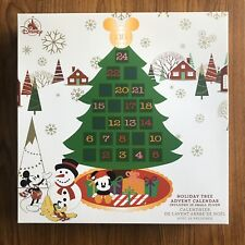 Disneyland Christmas HOLIDAY TREE ADVENT CALENDAR w/ 25 Small Plush Toys DISNEY