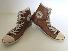 Converse All Star Chucks Sneaker Turnschuhe High Taylor Leder Braun Gr. 4 / 37