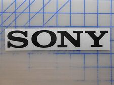 "Sony Decal 5.5"" 7.5"" 11"" Stereo Receiver Remote Speaker Earbuds Bluetooth TV LED"