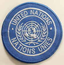 UN Shoulder Patch, United Nations, Army, Badge, TRF, Sew on & Iron no-640