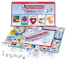 Post Office Opoly; Love Stamps Edition Monopoly Board Game NEW and SEALED