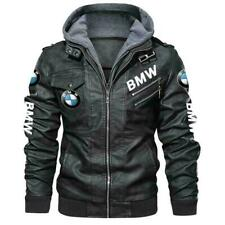 BMW - Poly Synthetic Leather Jacket, BEST GIFT, NEW JACKET- SO COOL