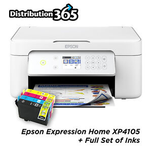 Epson Expression XP-4105 WiFi All-in-One Printer With Ink REWORKED