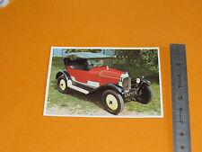 CHROMO CHOCOLAT POULAIN 1976 AUTO VOITURE CONNAISSANCES 5 CV CITROEN 1923