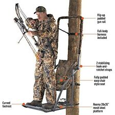 Tree Stand Extreme Comfort Hang On Treestand Deer Hog Hunting Supplies Bow Gun