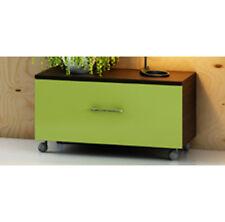 Cassettiera in 30 colori Bicolore o Monocolore 80x39 mobile arredo bagno ruote|