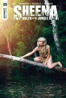 Sheena #9 Cosplay Photo Variant Cover D Comic Book Dynamite