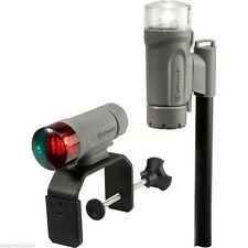 Attwood Clamp On LED Portable Bow & Stern Navigation Light Kit - 14190-7