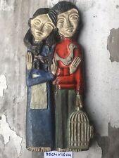 Ceramic Tile Mid Century Art Pottery Amphora Perignem Modernist Vandeweghe