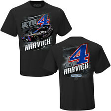 Kevin Harvick 2020 Checkered Flag Sports #4 Mobil 1 Camber Tee FREE SHIP!