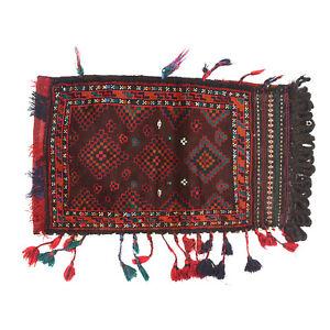 Nomadic Cushion Afghan Hand-knotted Oriental Balisht Rug 100 x 59 cm <<11582>>