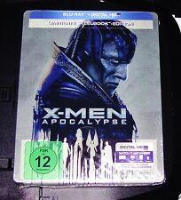 X-Men Apocalypse Limited Steelbook Edition Blu Ray New & Original Packaging