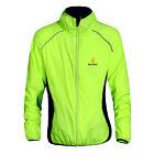 NEW Fashion Cycling Bicycle BIKE Coat Windproof Long Sleeve Jersey Jacket Green