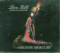 Freddie Mercury/Queen - Love Kills Sunshine People Remix 4 Tracks Cd Perfetto