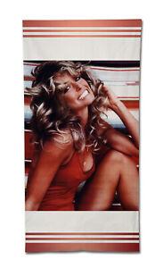 "Farrah Fawcett Towel Beach 55"" Summer Bath Gym Charlie's Angels Pretty Woman"