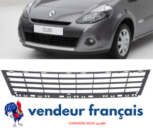 GRILLE DE PARE CHOC AVANT RENAULT CLIO 3 PHASE 2  [Jantes 15] - OEM : 622541459R