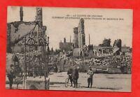 Guerre en Argonne - CLERMONT EN ARGONNE - Après l'incendie de septembre 1914