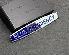 BLUE EFFICIENCY emblem logo Trunk Car sticker Fender badge for Mercedes Benz