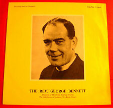 "Rev.George Bennett 10"" LP PRIVATE Xian/Divine Healing Mission/Relaxation VINYL"